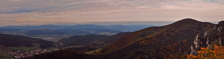 Súľovská panorama