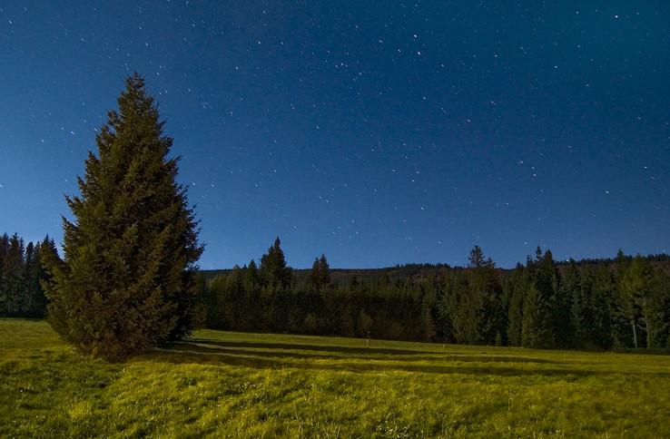 Noc nad Oravicami