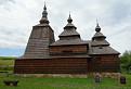 Drevený kostolík sv. Mikuláša v obci Habura