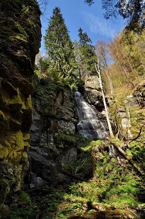 Divokosť vodopádu Bystrô