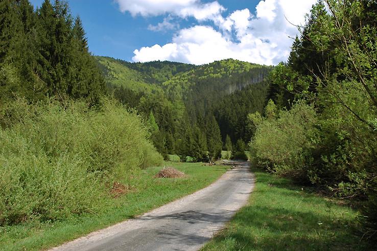 Sklabinská dolina.