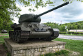 Tank v Dargovskom priesmyku