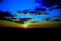 Východ slnka na Trnavskej rovine / 2.7857