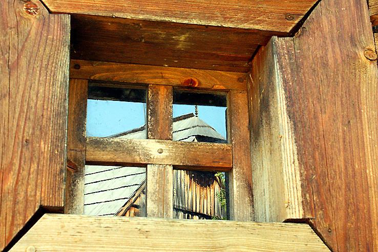 podkrovie v okne