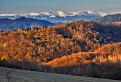 Pohľad na hrebeň Nízkych Tatier