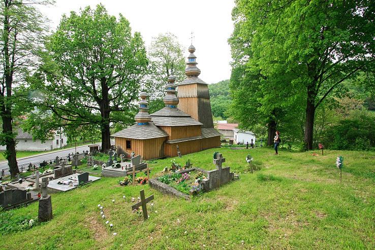 Kostolík v Hunkovciach