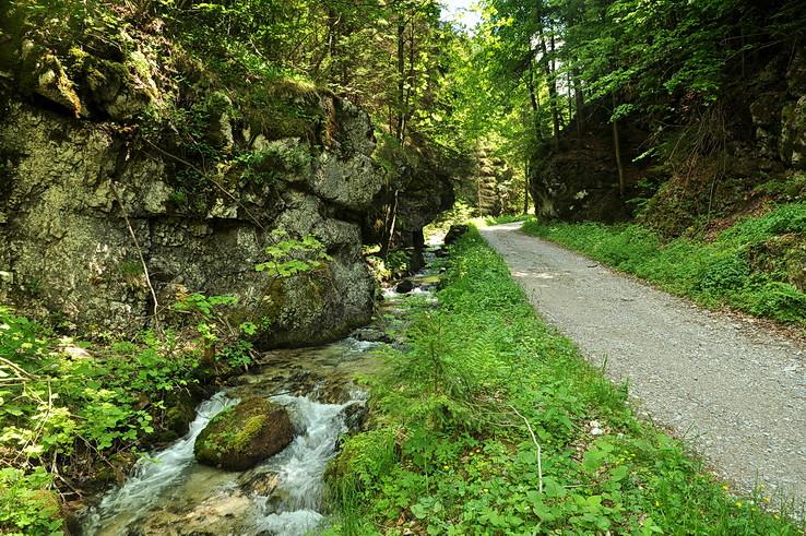 Zúženie Blatnickej doliny