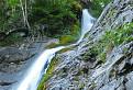 Šútovský vodopád – horná časť