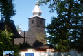 Pôvodne kalvínsky kostol v Srednej Wsi z roku 1608
