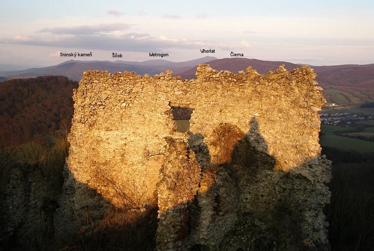 Pohľad z hradu