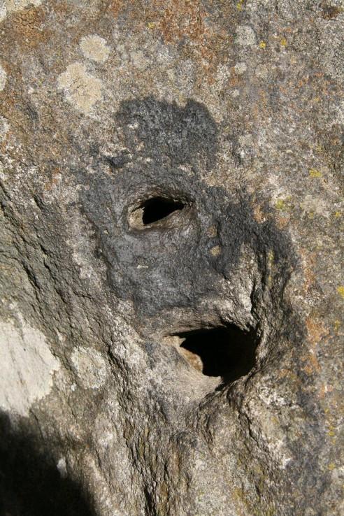 Trúbiaci kameň pri Sucháni.