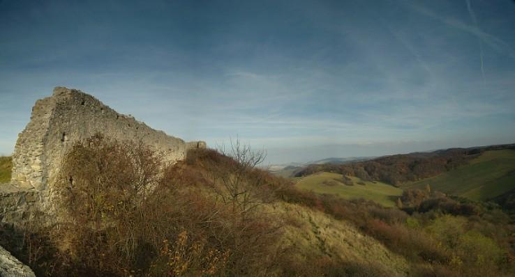 Panorama z Branča