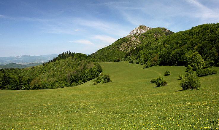 Kraj plný zelene