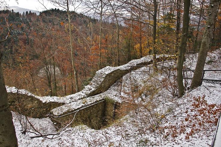 Pieninský zámok -  ruiny
