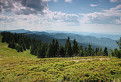 Kľak a horstvo spod Veterného