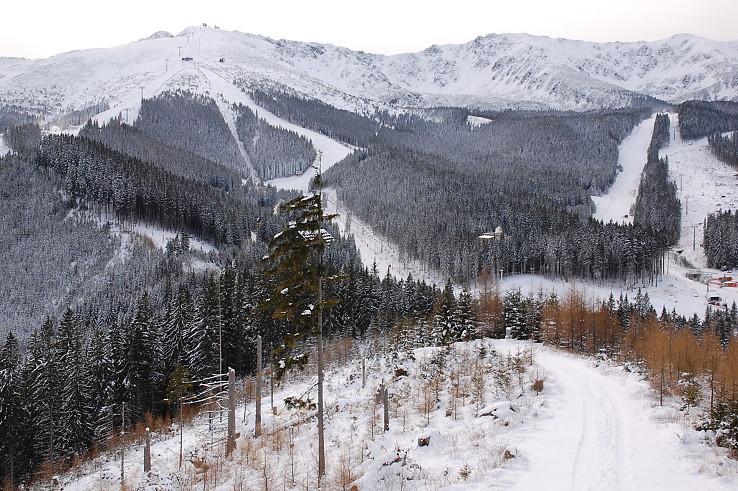 lyžiarská už začala