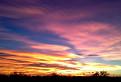 Západ slnka nad Kitsee