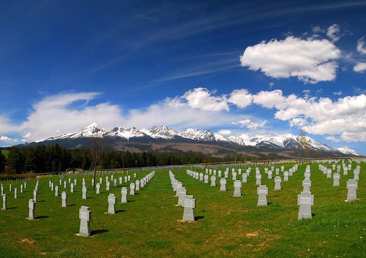 Nemecky vojensky cintorín vo Važci