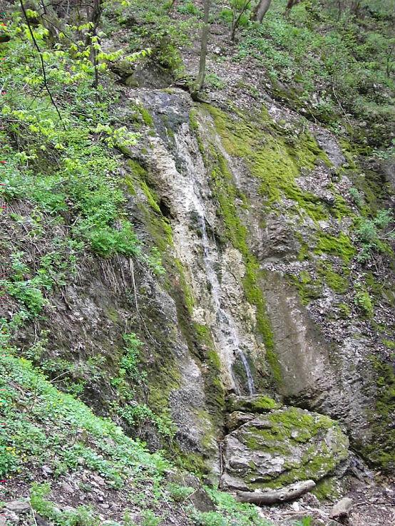 Vodopád v Hlboči