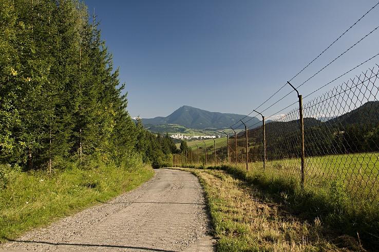 Na ceste pri farme