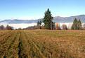 Jesenné inverzie v údolí Hrona