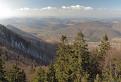 Pohľad na vŕšky Kysuckej vrchoviny
