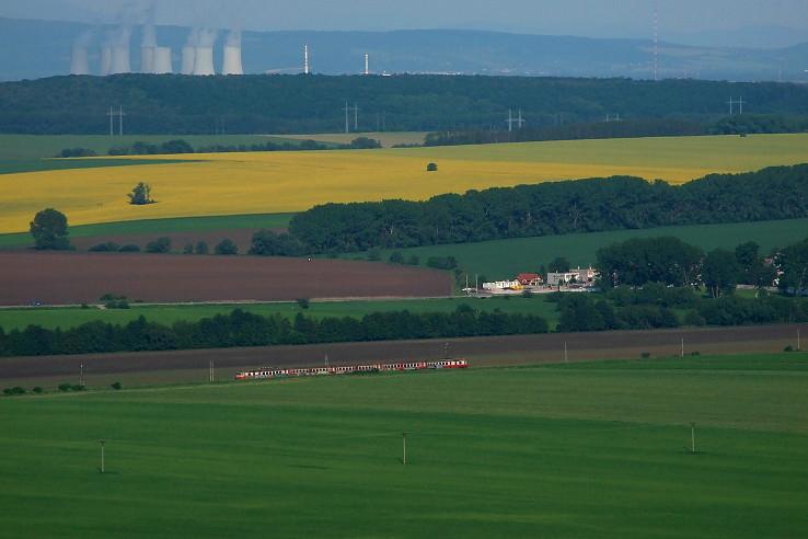 Foto s vlakom