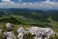 Letecký pohled na Zliechov... ze Strážova