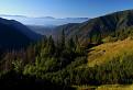 Rozpravkové ráno v horách
