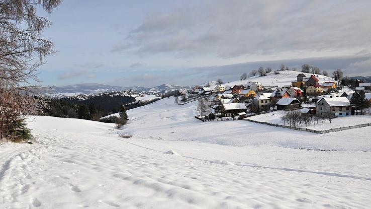 Zima nad Jaworzynkou