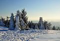 Pozostatky snehovej nádhery