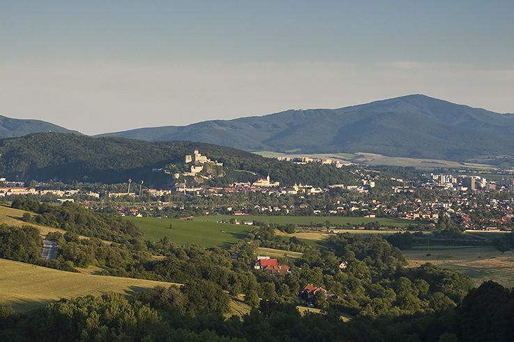 Trenčín z Hrabovky