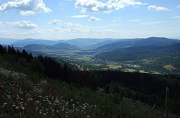 Východný pohľad zo Stolice