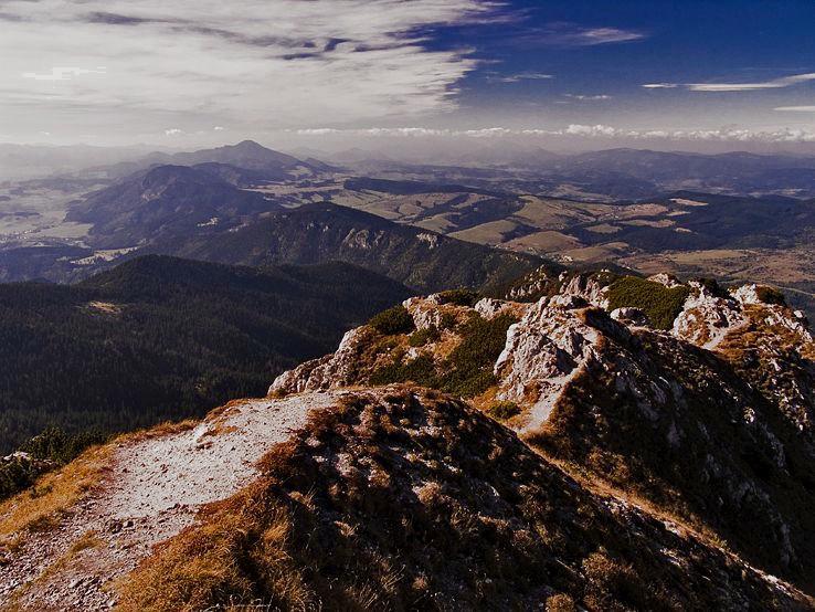 panorama zo Siveho vrchu