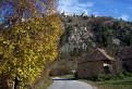 Jeseň pod Čachtickým hradom