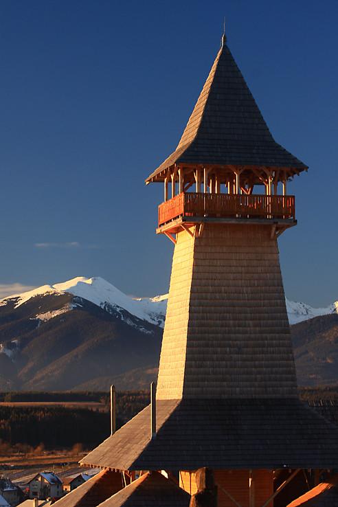 Vežička a hory
