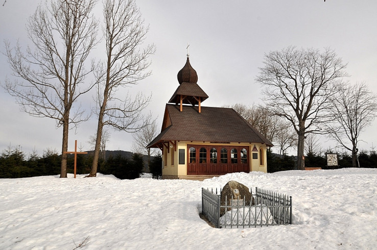 Kaplnka v zime