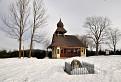 Kaplnka v zime  / 1.0000