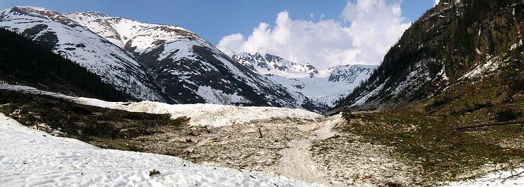 100-ročná lavína v Žiarskej doline II.