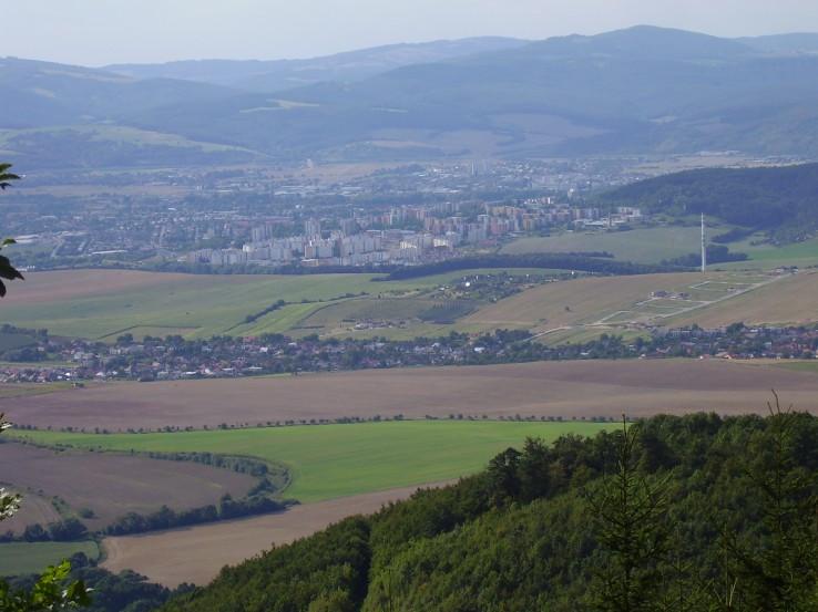 Čiernachov - výhľad na sídlisko Juh