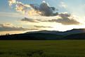 Západ slnka za Rokoš
