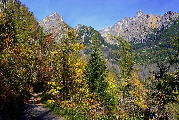Jeseň vo Vysokých Tatrách