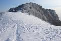 Majerova skala v zime