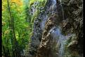 jeseň pod Závojovým vodopádom
