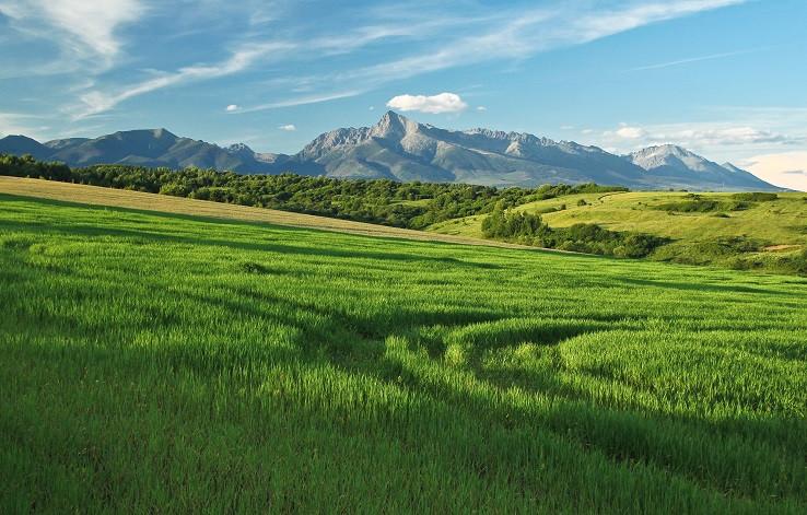 Krásna krajinka