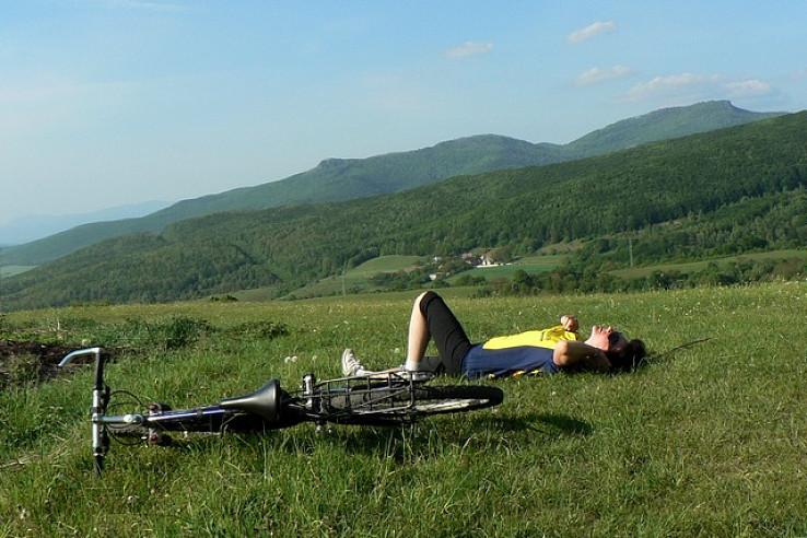 Oddych na cyklotúre