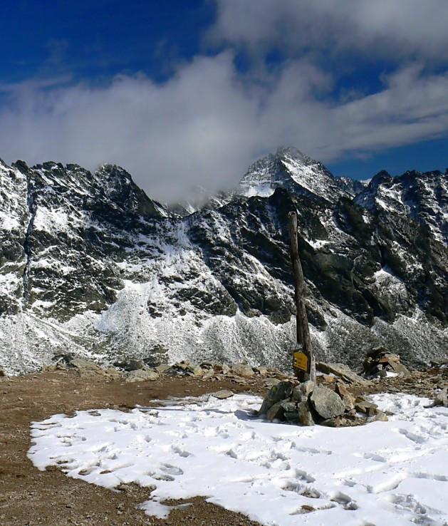 Vyšné Kôprovské sedlo (2 180 m)