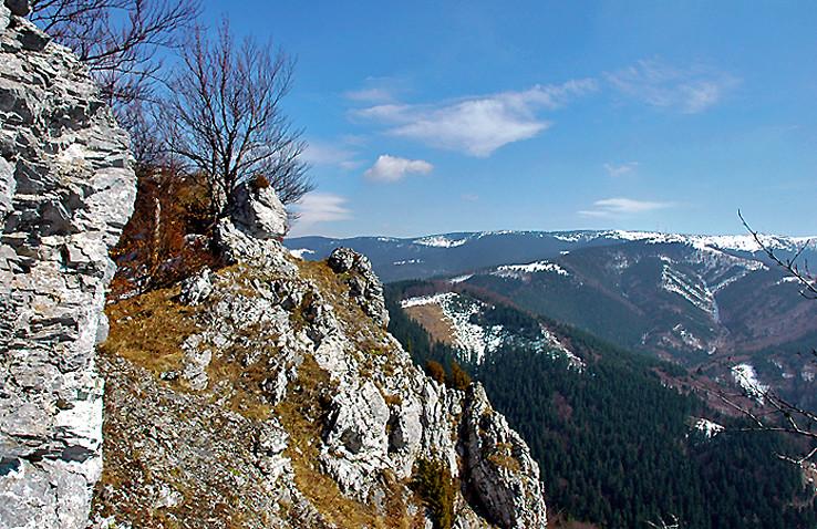 Výhľady z Kozla.