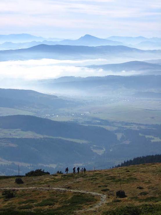 Inverzia medzi horami