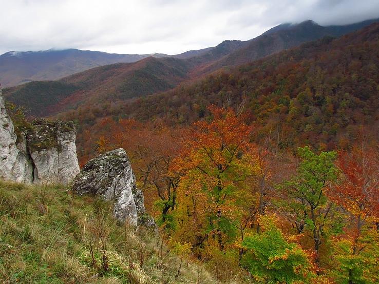 tajomné Nitrické vrchy